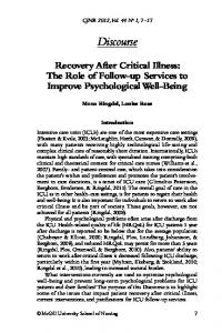 Discourse Recovery After Critical Illness