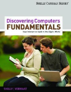 Discovering Computers Fundamentals: Your ... - MY HOME PAGE