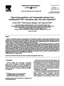 Discovering significant and interpretable patterns ... - Semantic Scholar