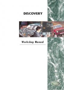 Discovery Workshop Manual - 2nd Edition - Eng