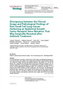 Discrepancy between the Clinical Image and ...