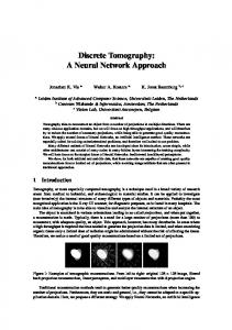 Discrete Tomography: A Neural Network Approach