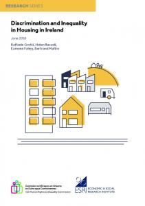 Discrimination and Inequality in Housing in Ireland - The Economic ...