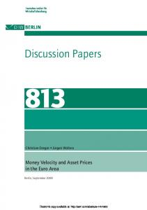Discussion Papers - SSRN papers
