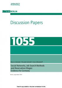 Discussion Papers - SSRN