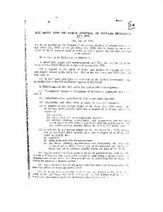 (Disposal of Private Property) Act 1950 - Indian Airforce