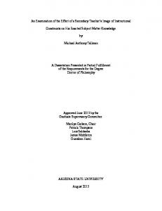Dissertation Manuscript Final - Pat Thompson