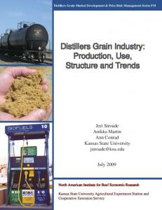 Distillers Grain Industry: Production, Use, Structure and ... - NAIBER