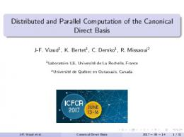 Distributed and Parallel Computation of the ...