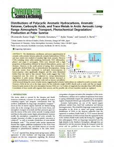 Distributions of Polycyclic Aromatic Hydrocarbons
