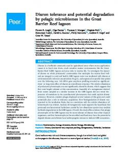 Diuron tolerance and potential degradation by ... - Semantic Scholar
