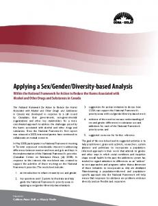 Diversity-based Analysis within the National