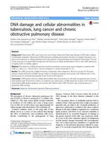 DNA damage and cellular abnormalities in ... - Springer Link