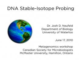 DNA Stable-Isotope Probing
