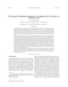Do Changes in the Midlatitude Circulation Have Any ... - EAS Courses