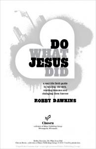 Do What Jesus DiD - Baker Publishing Group