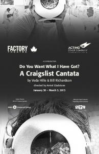 Do You Want What I Have Got? A Craigslist Cantata