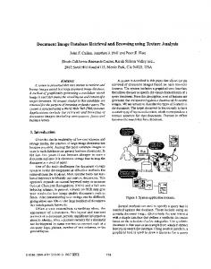 Document Image Database Retrieval and Browsing ... - Jonathan J. Hull