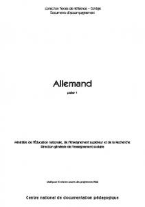 Documents d'accompagnement - CNDP