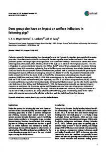 Does group size have an impact on welfare ... - Semantic Scholar
