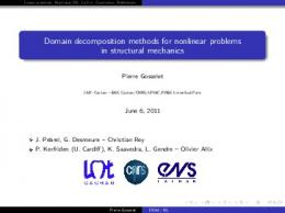 Domain decomposition methods for nonlinear problems in ... - Hal