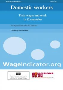 Domestic workers - WageIndicator.org