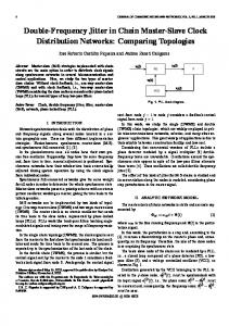 Double-Frequency Jitter in Chain Master-Slave Clock ... - IEEE Xplore