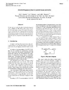 Double-frequency jitter in synchronous networks https://www.researchgate.net/.../Double-frequency-jitter-in-synchronous-networks.pdf...