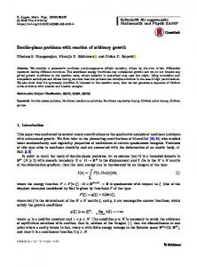 Double-phase problems with reaction of arbitrary growth - Springer Link