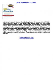 Download 3,000 Solved Problems In Chemistry ... - WordPress.com