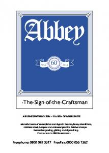 Download - Abbey Nameplates