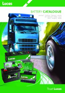 Download BATTERY CATALOGUE