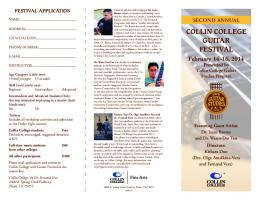 Download Brochure - Collin College