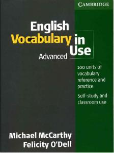 Download English Vocabulary in Use Advanced