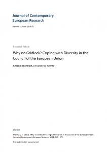 Download - Journal of Contemporary European Research