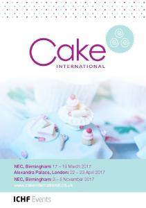 Download Media Pack - Cake International