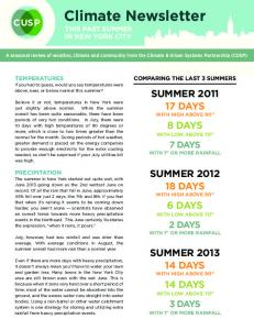 Download New York City Summer 2013 - Climate & Urban Systems ...