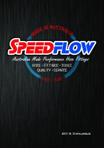 Download our latest Catalogue Here! (PDF Format ... - Speedflow