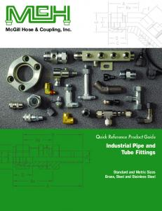 Download our Pipe & Tube Fitting Catalog