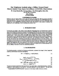 Download Paper - AMOS Conference