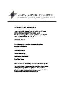 Download PDF - Demographic Research