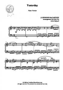 download PDF - Free Sheet Piano Music