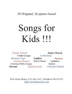 Download PDF version of this complete songbook - New Hope Music