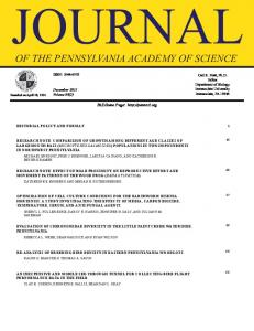 Download - Pennsylvania Academy of Science
