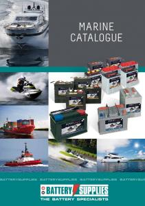 Download the marine catalogue