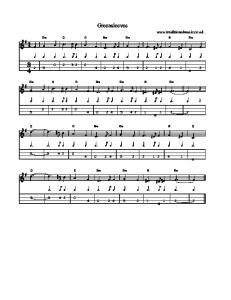 Download the Music Score and Tabs(PDF) - Traditional Music Library