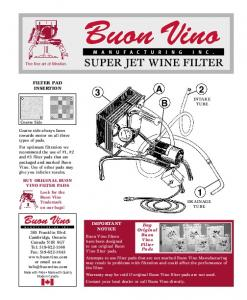 Download the Super Jet Instruction Manual here