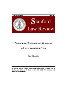 Download thePDF - Stanford Law Review