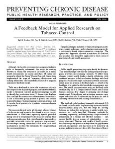 Download this article as a PDF - CDC