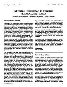 Download this article as a PDF - TIM Review